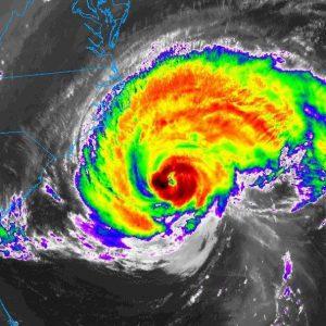 Hurricane Florence closing
